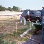 """Meadowland Stormwater """"Garden"""" Plots – First Step Completed (A)"""